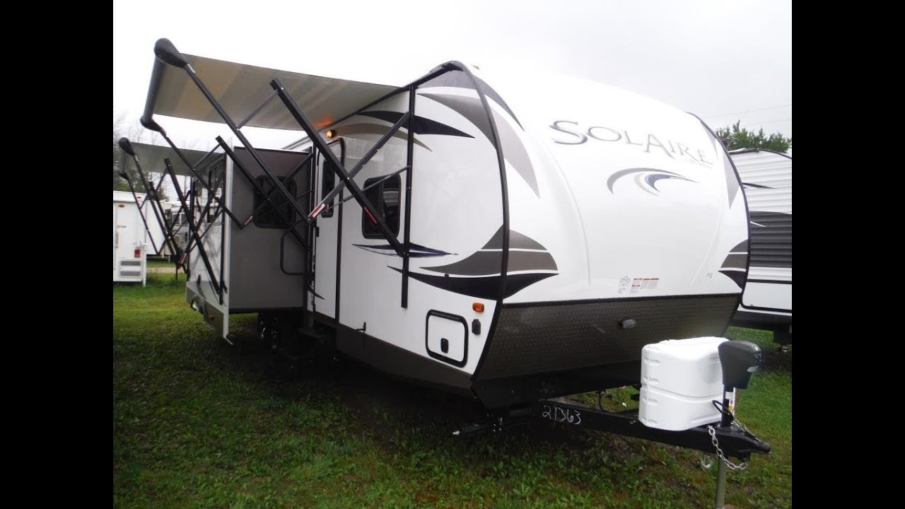 Best 2017 Solaire 312Tsqbk Luxury Ultra Lite 2 Bedroom Travel With Pictures