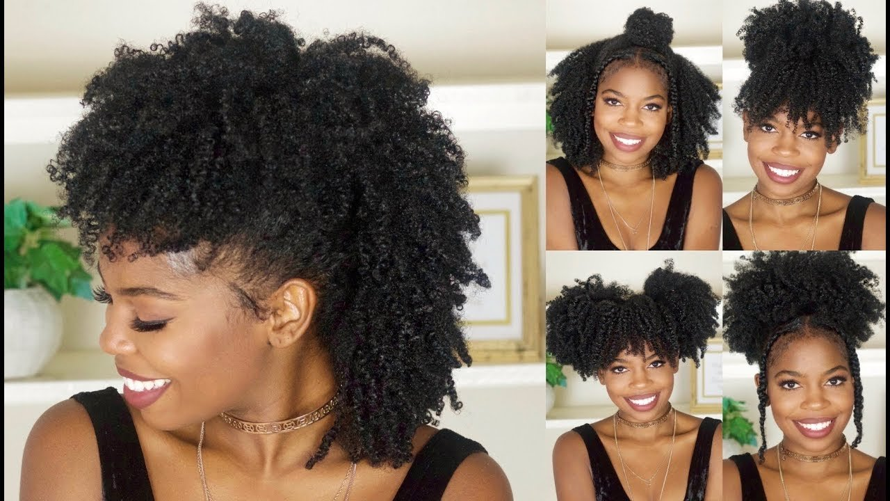 Free 6 Easy Back To School Hairstyles For Natural Hair Youtube Wallpaper