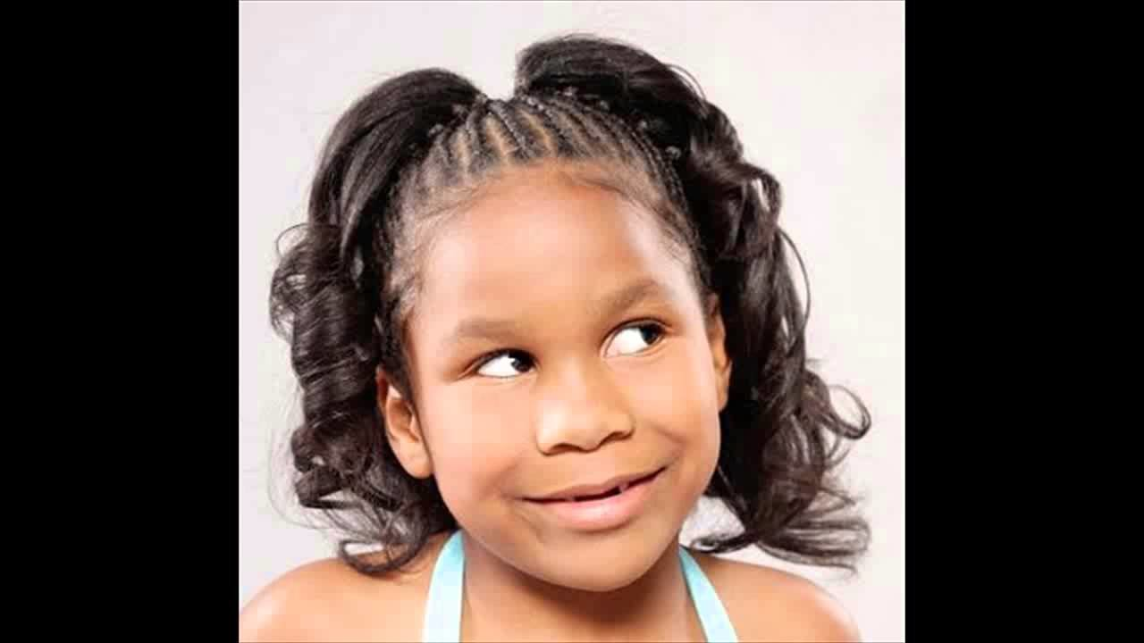 Free African American Little Girl Kids Ponytail Hairstyles Pictures Youtube Wallpaper