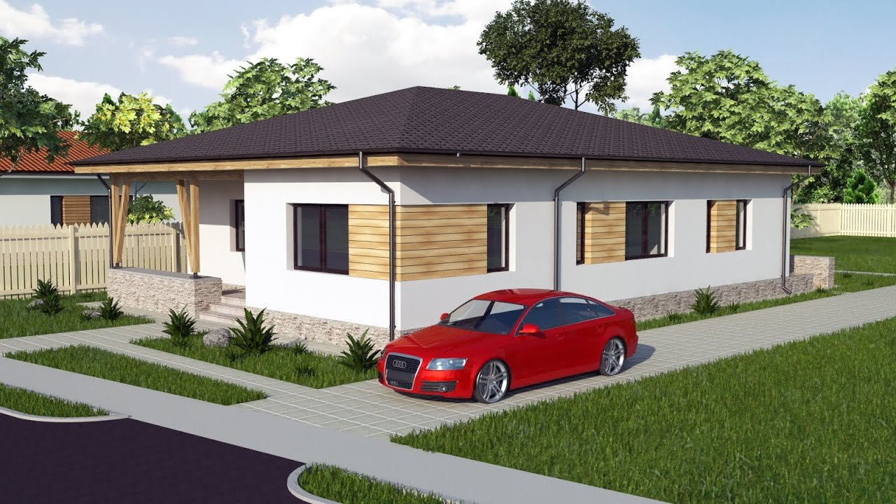Best Modern Bungalow House Design 3 Bedroom House Model A30 With Pictures