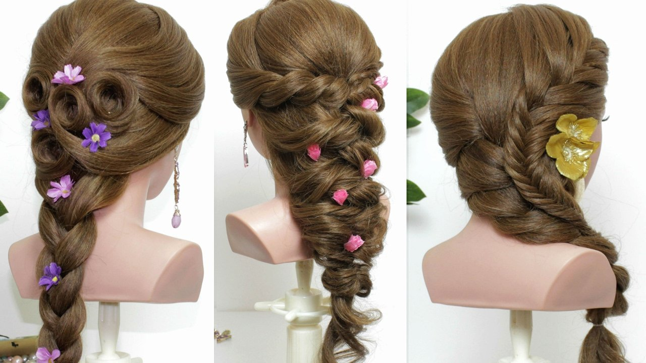 Free 3 Easy Hairstyles For Long Hair Tutorial Youtube Wallpaper
