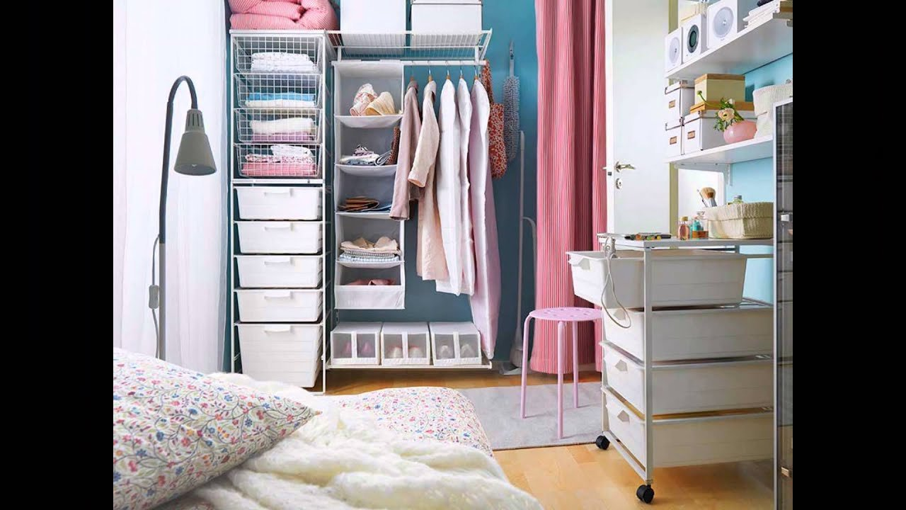 Best Bedroom Organization Ideas Small Bedroom Organization Ideas Youtube With Pictures