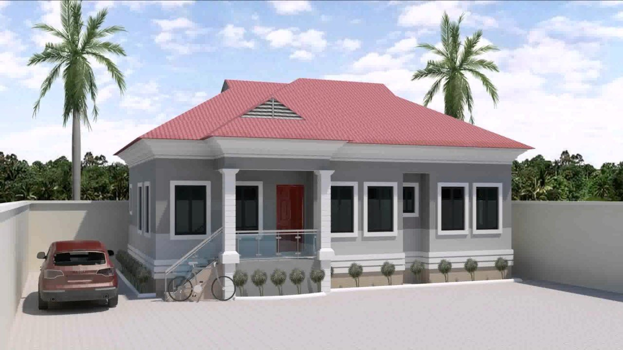 Best 3 Bedroom House Design In Nigeria Youtube With Pictures