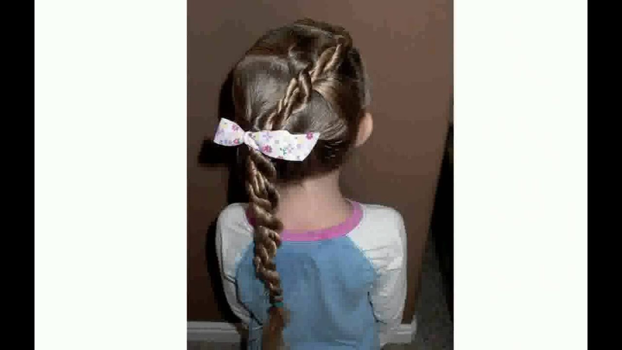 Free 25 Quick And Easy Hairstyles For Little Girls Youtube Wallpaper