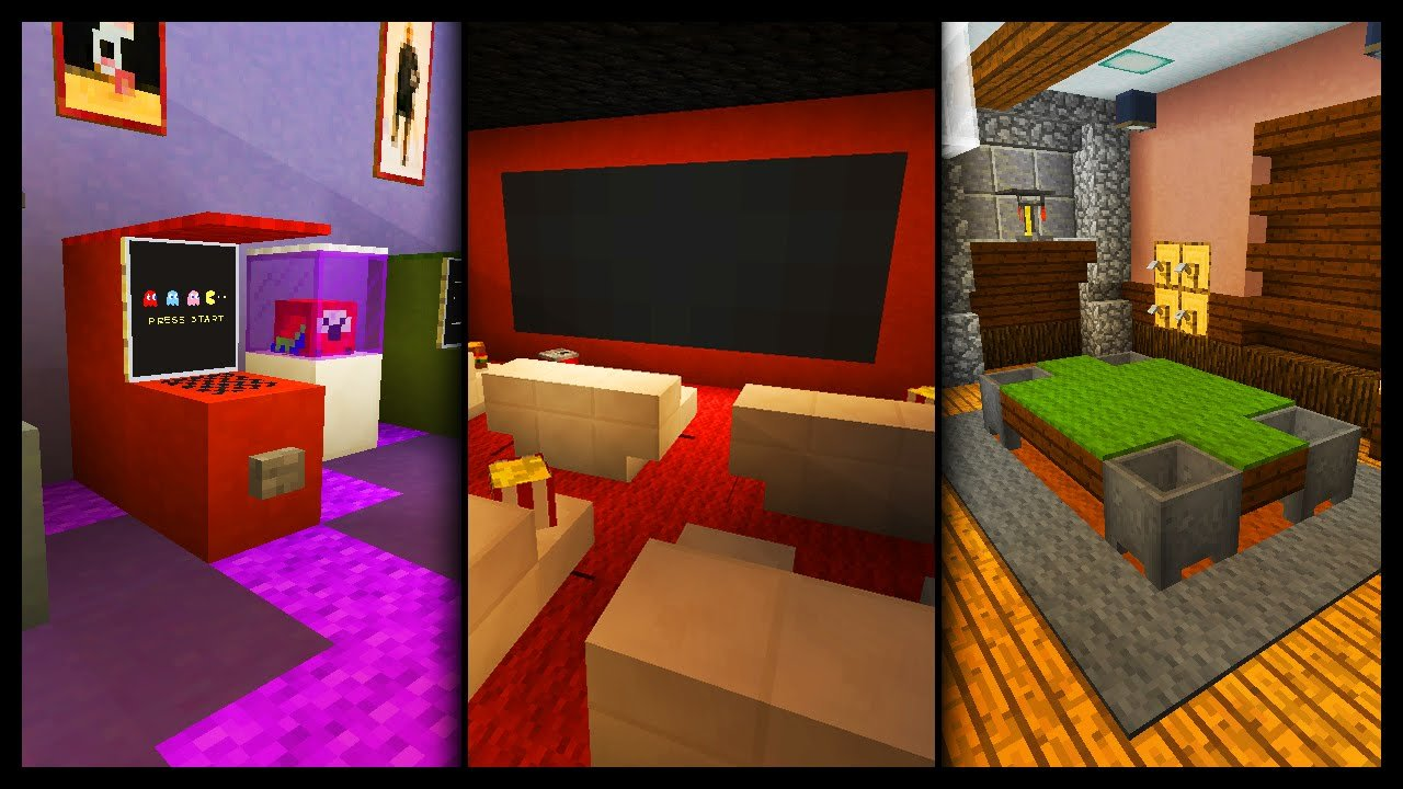Best Minecraft Games Room Designs Ideas Youtube With Pictures