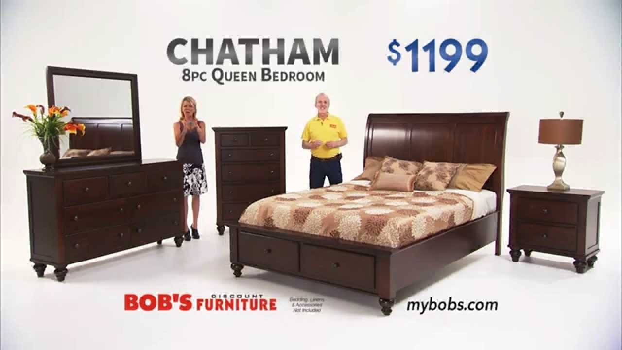Best Chatham Queen Bedroom Set Bob S Discount Furniture Youtube With Pictures