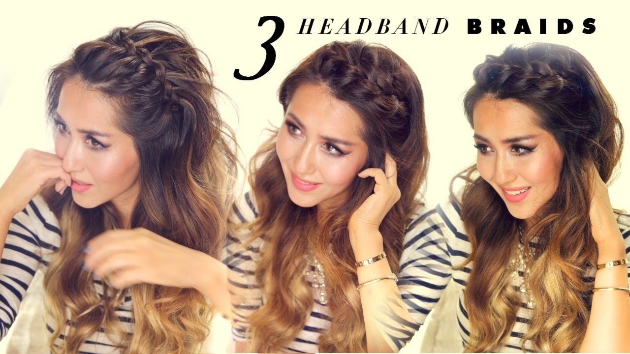 Free 3 Easy Peasy Headband Braids Quick Hack Hairstyles For Wallpaper