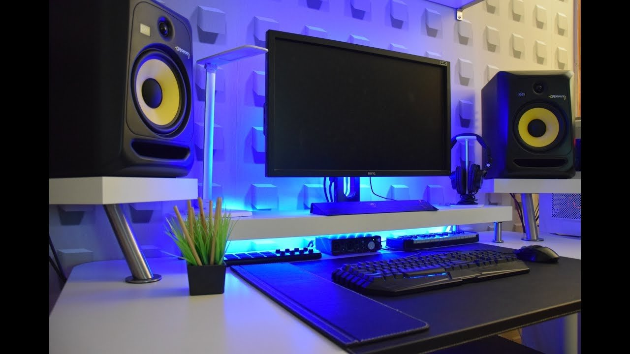 Best Minimalist Bedroom Studio Desk Ikea Hack Guide Youtube With Pictures