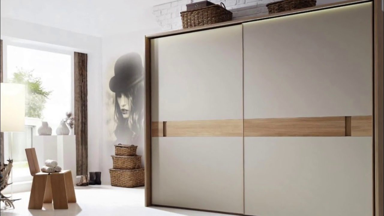 Best Sliding Wardrobe Designs For Bedroom Indian Youtube With Pictures