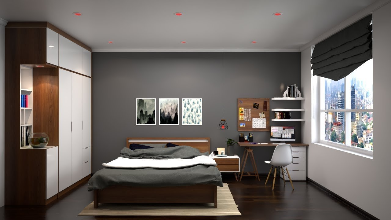 Best Vray Rendering Nice Bedroom 017 Render With Vray 3 4 With Pictures