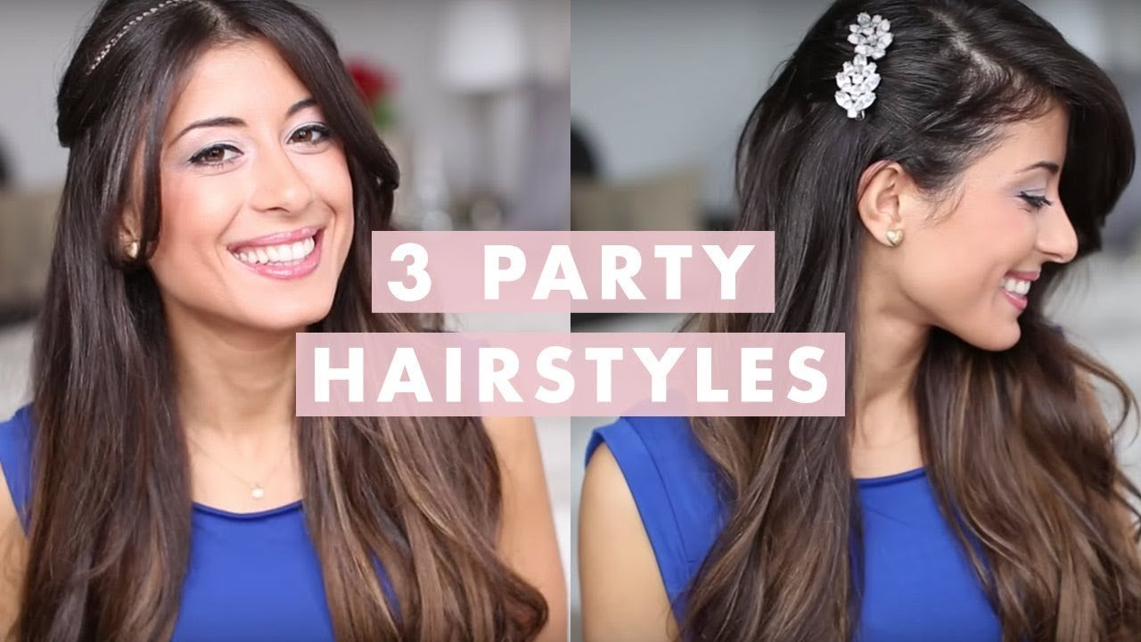 Free 3 Party Hairstyles Youtube Wallpaper