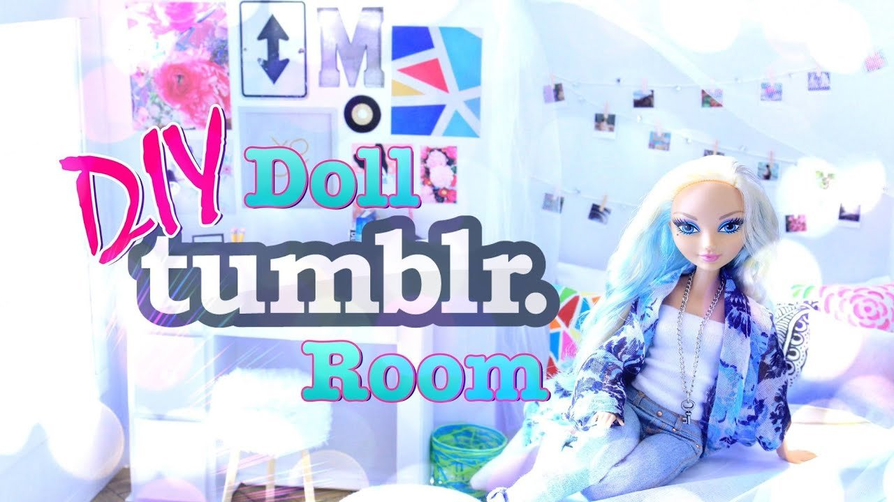 Best Diy How To Make Doll Tumblr Room Handmade Crafts With Pictures