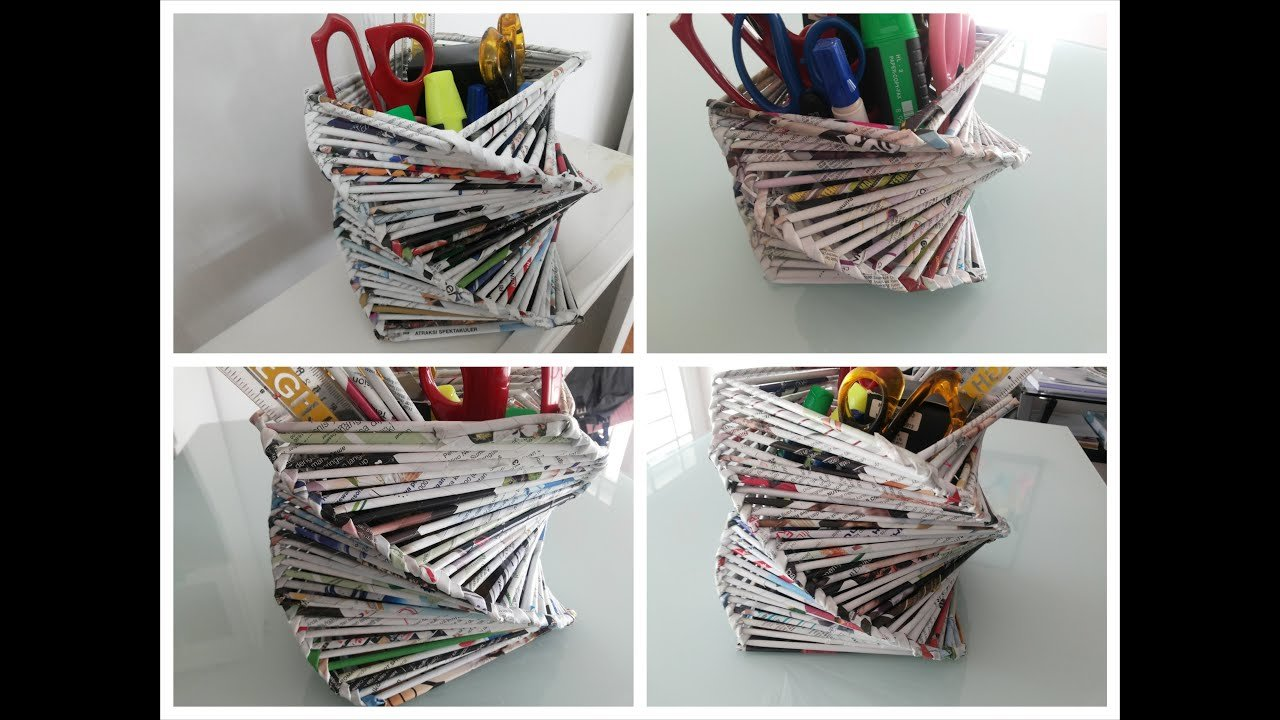 Best Diy Room Or Home Decoration Recycled Old Magazine Youtube With Pictures