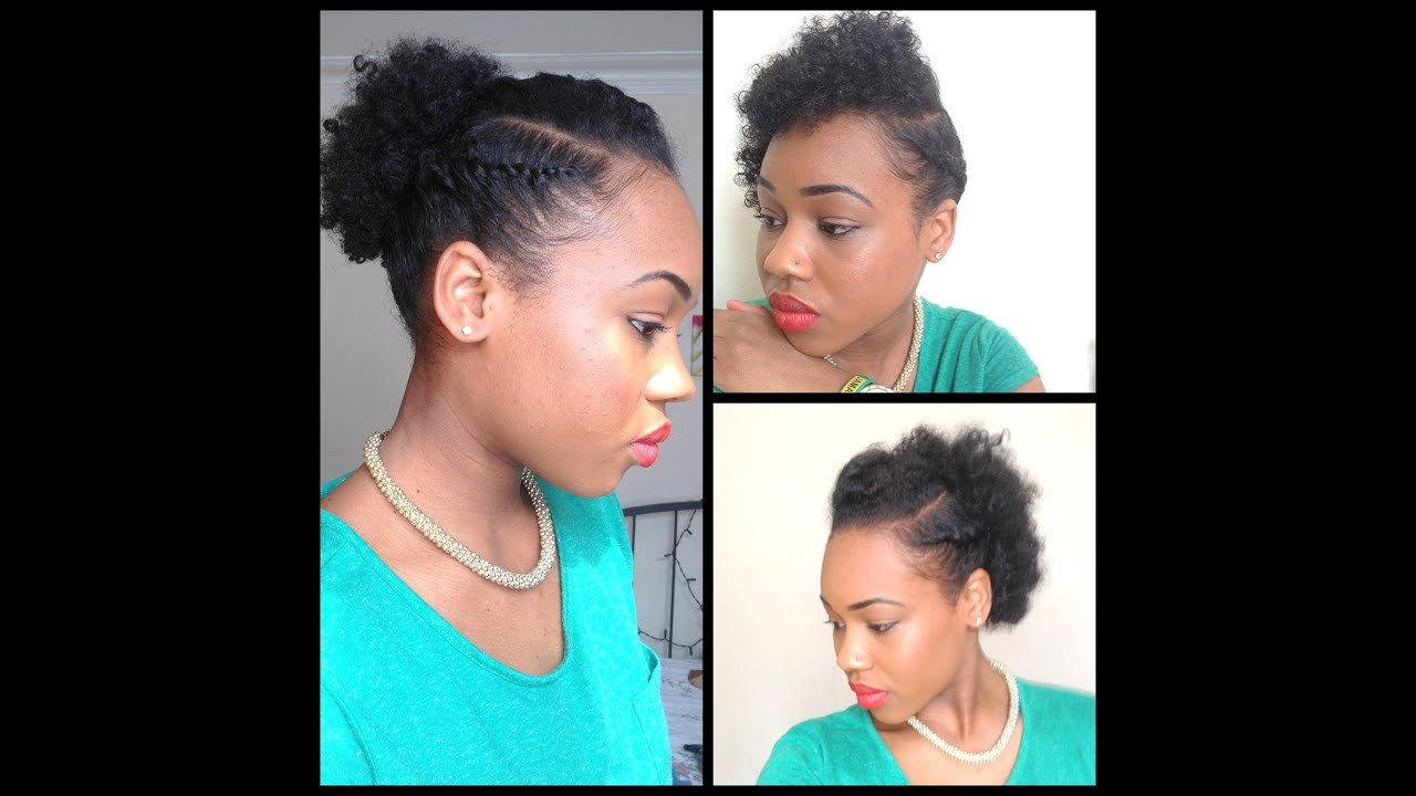 Free 32 3 Quick Easy Style For Short Natural Hair Wash And Go 5Th Day Styles Youtube Wallpaper
