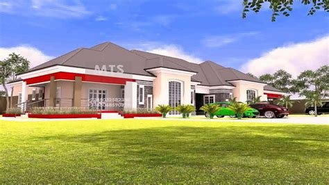 Best 5 Bedroom Bungalow House Plans Nigeria Youtube With Pictures
