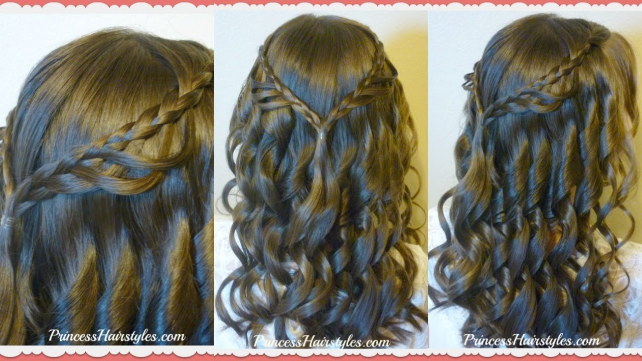 Free 8Th Grade Dance Hairstyle Tutorial And Dress Princess Wallpaper