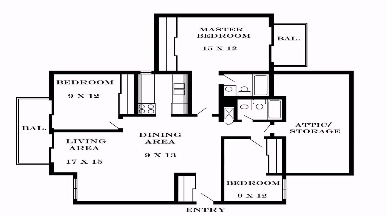 Best 3 Bedroom House Plans Pdf Youtube With Pictures