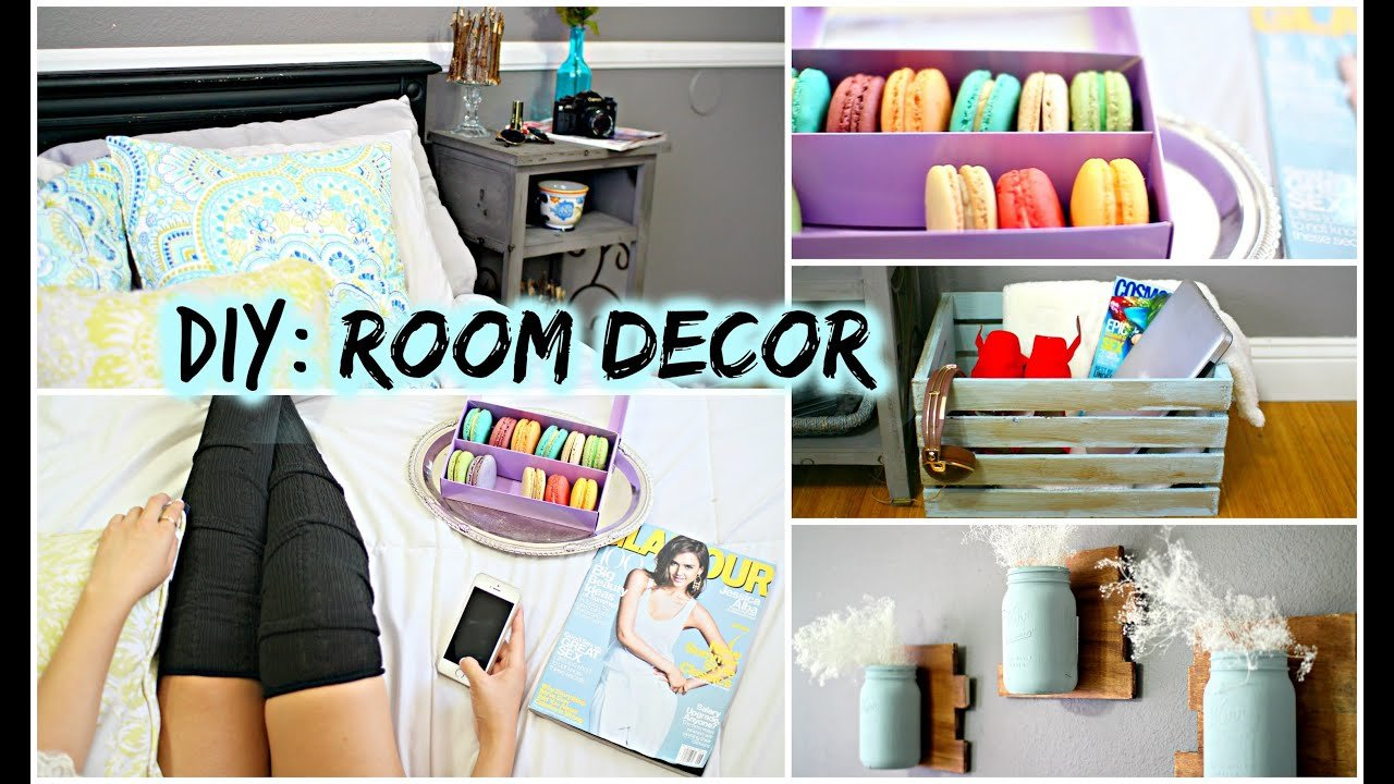 Best Diy Room Decor For Cheap Tumblr Pinterest Inspired Youtube With Pictures