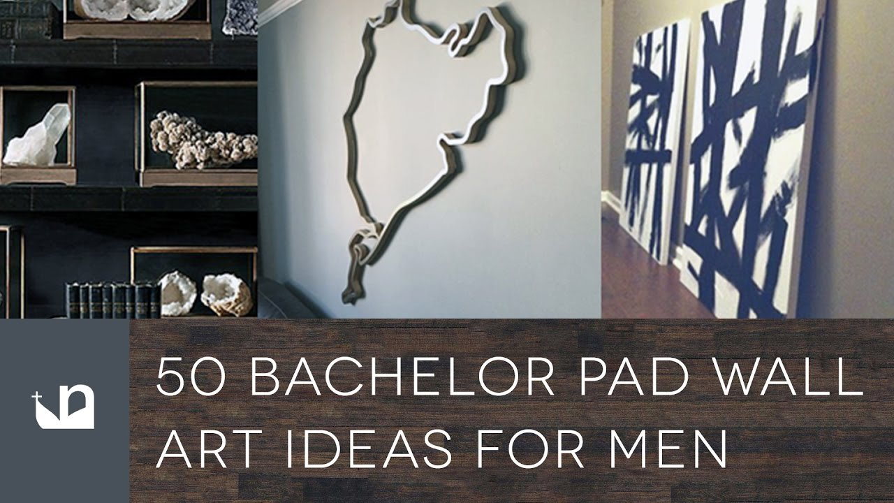 Best 50 Bachelor Pad Wall Art Ideas For Men Youtube With Pictures
