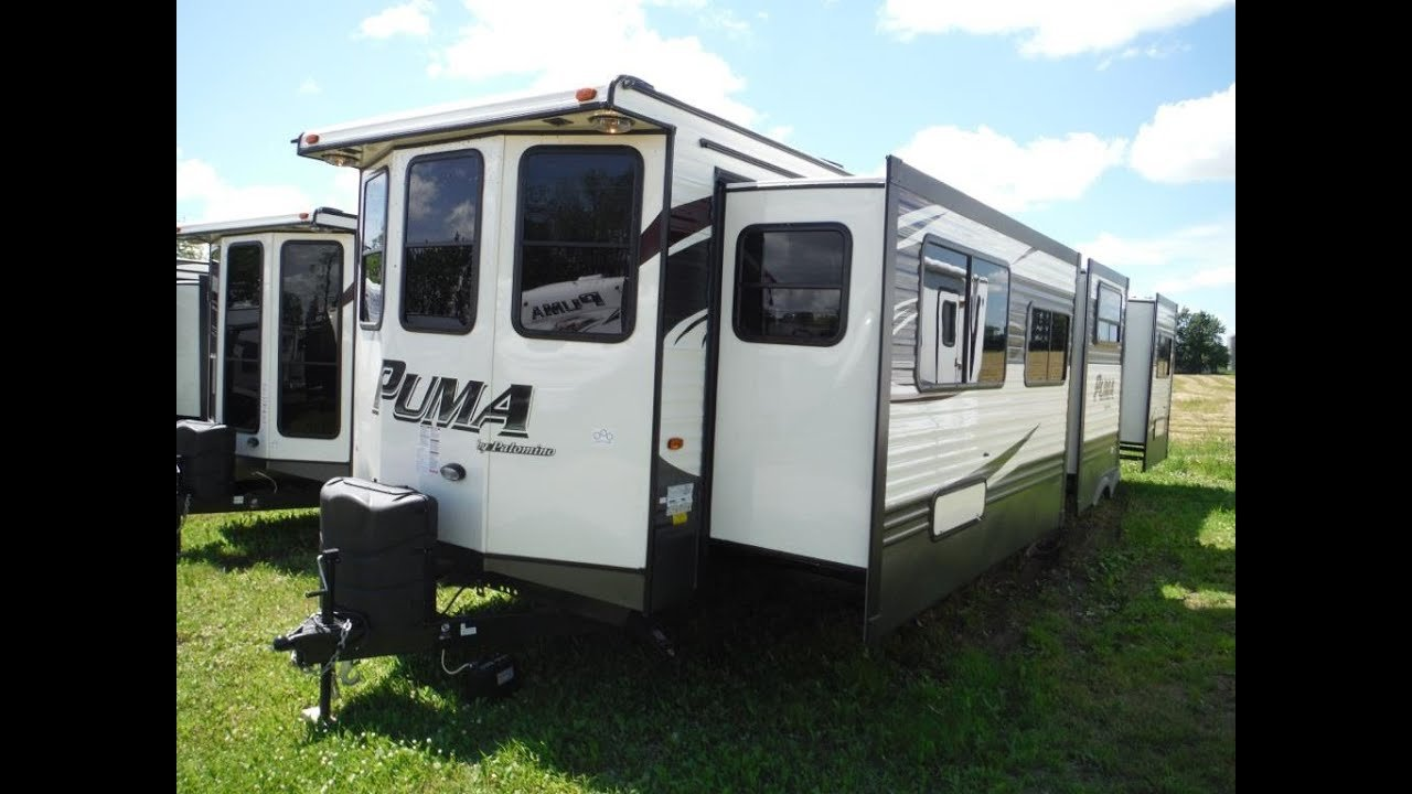 Best 2016 Puma 39Bht 2 Bedroom Park Model Trailer Camp Out Rv With Pictures