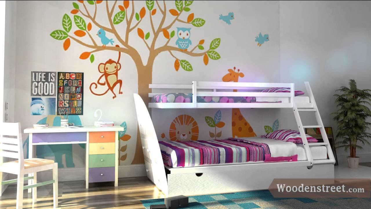 Best Customized Kids Room Furniture Online In India Wooden With Pictures