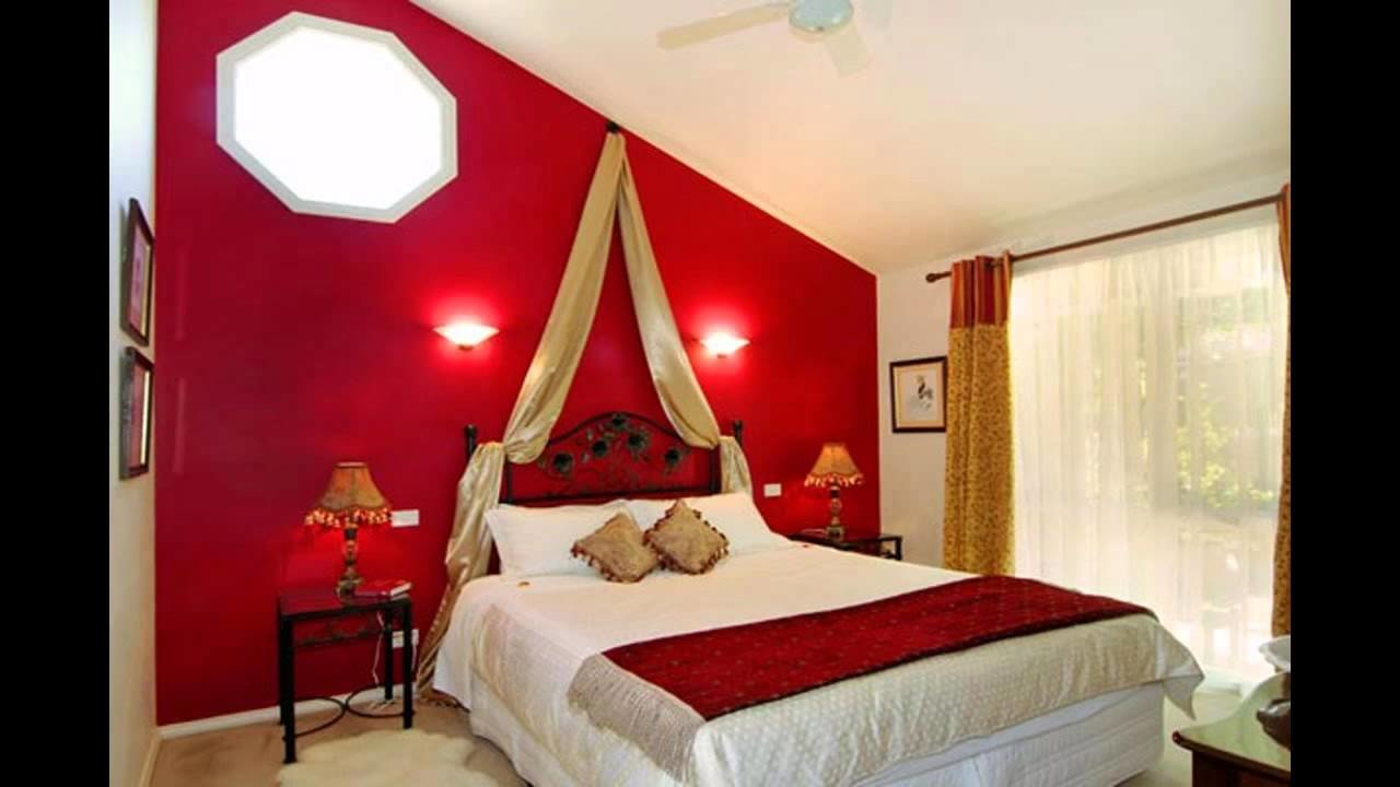 Best Cool Red Bedroom Decorating Ideas Youtube With Pictures