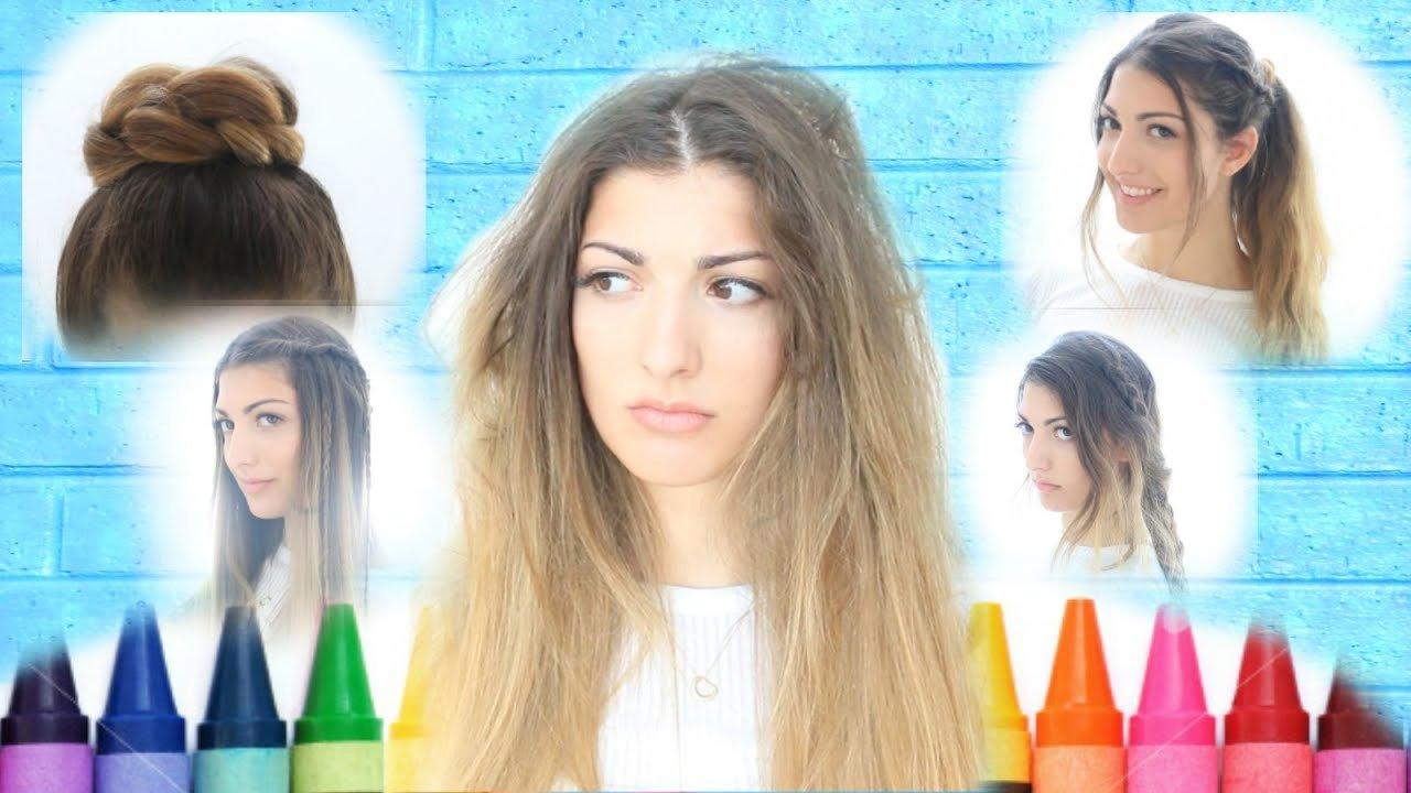 Free My Back To School Hairstyles Youtube Wallpaper