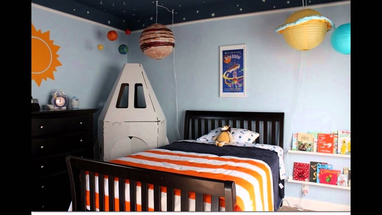 Best Outer Space Bedroom Decor Ideas For Boys Youtube With Pictures