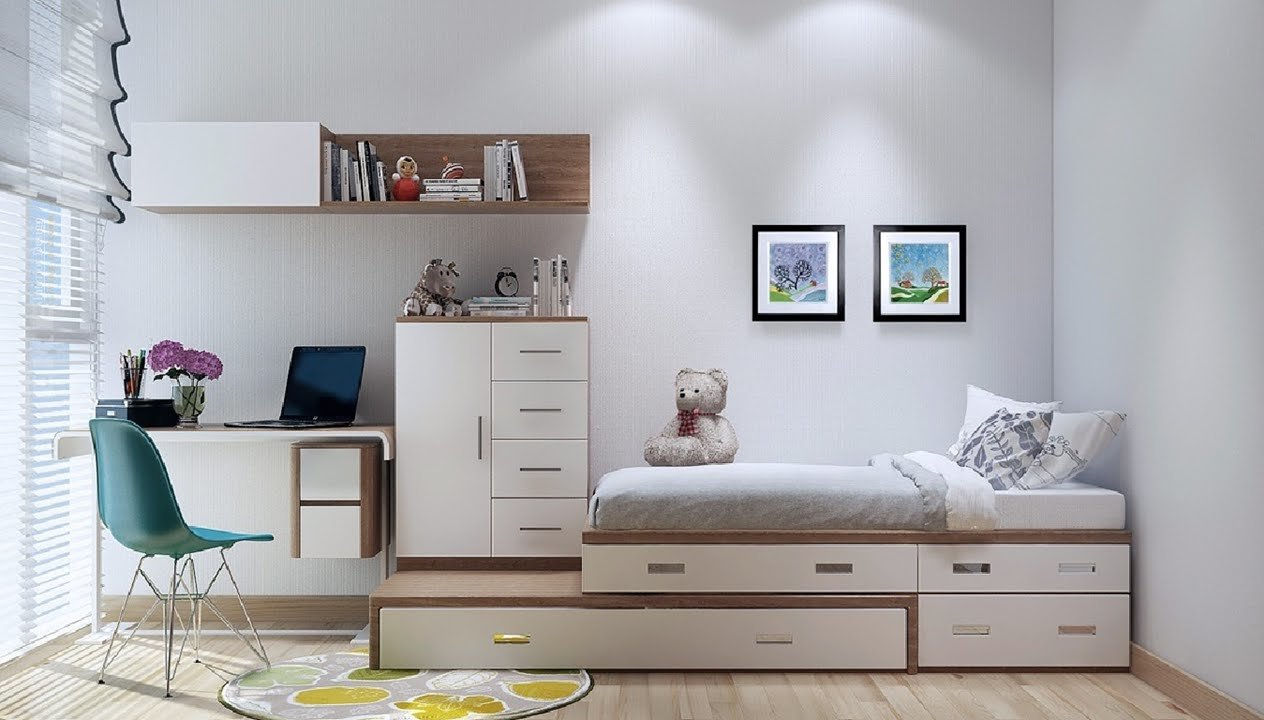 Best Top 20 Small Apartment Small Bedroom Interior Design Youtube With Pictures