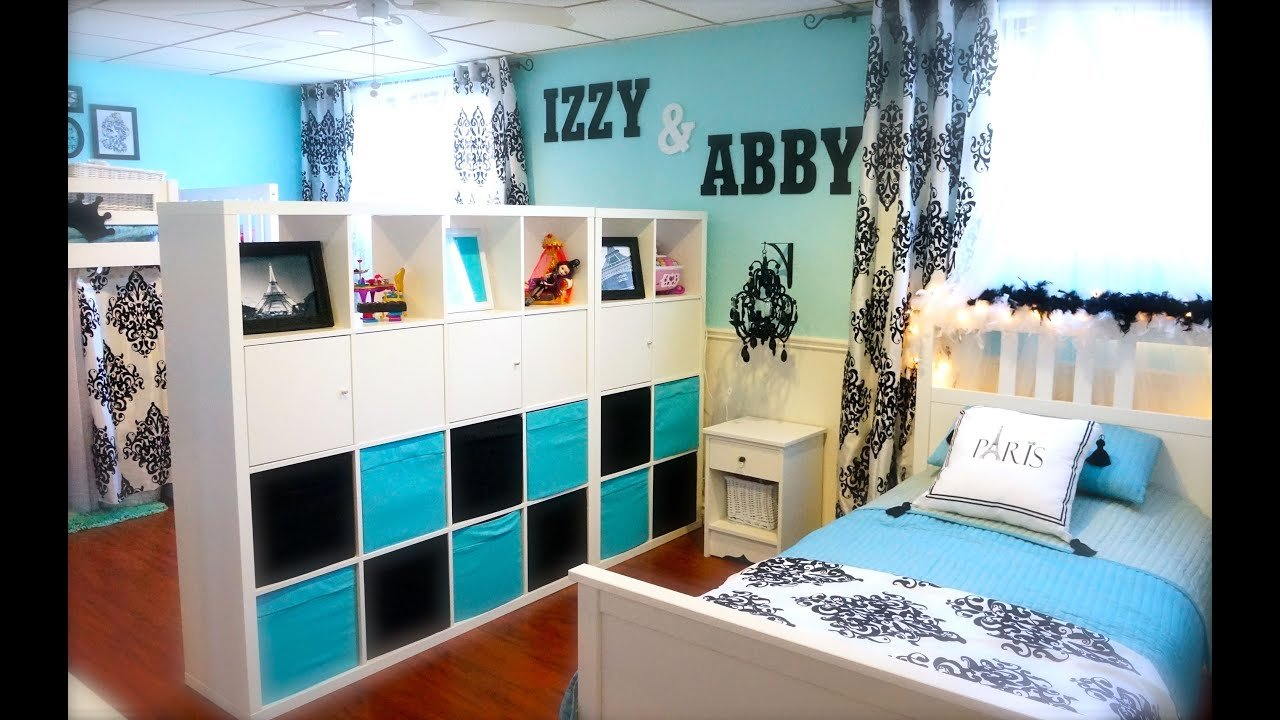 Best Decorating Tips Decorating My Girls Shared Room On A With Pictures