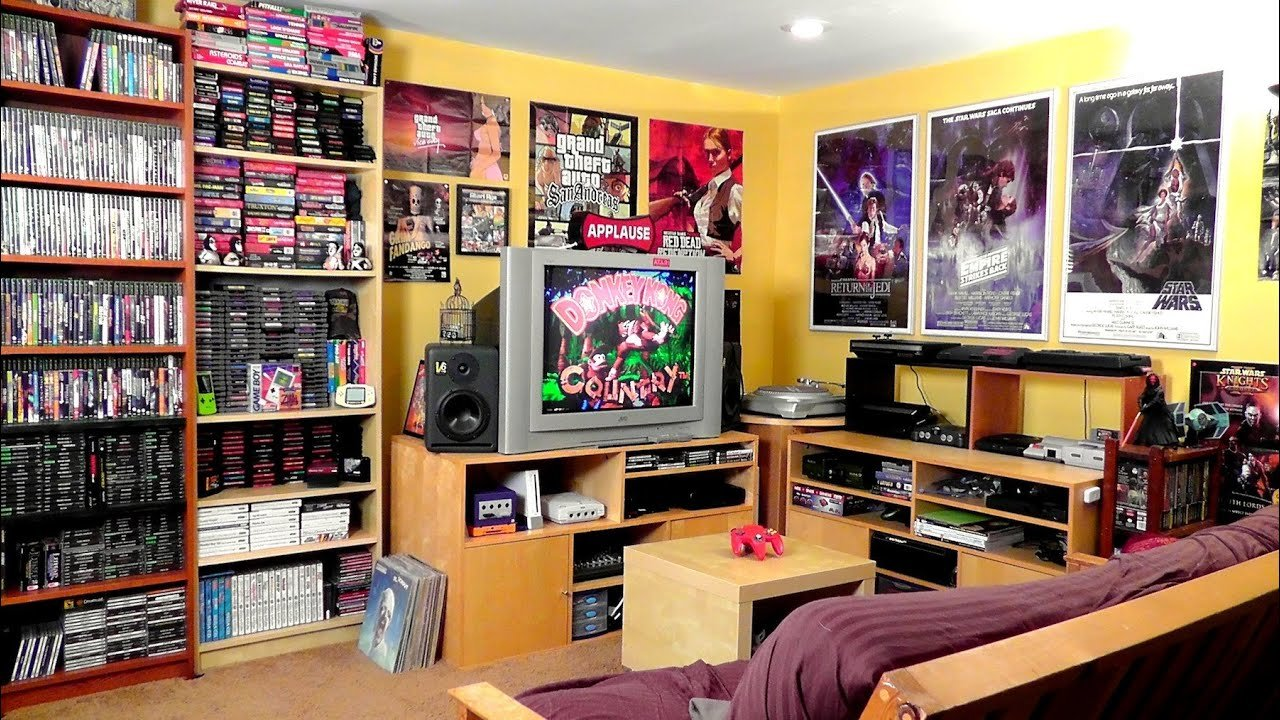 Best Game Room Tour 2 300 Games Youtube With Pictures