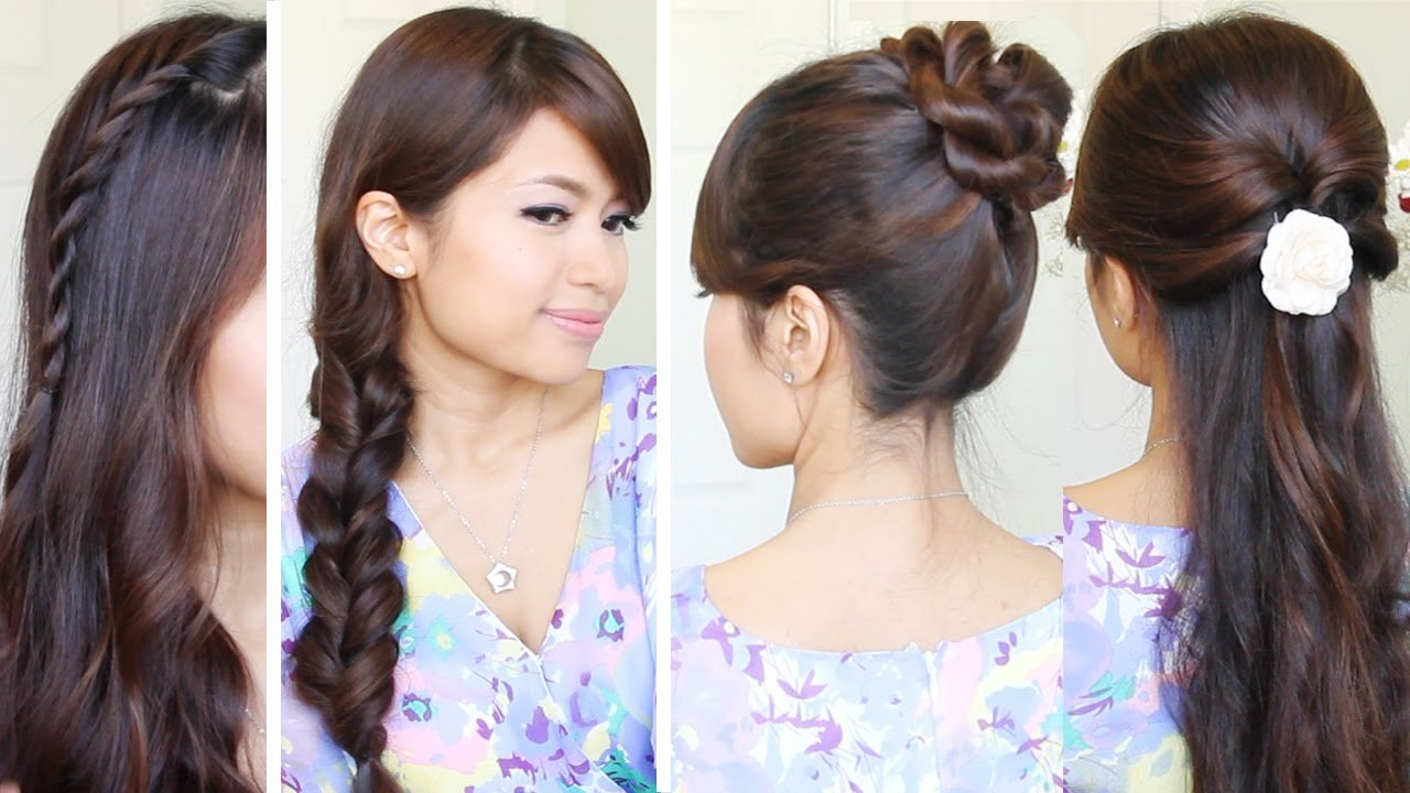 Free Quick Easy Back To School Hairstyles Hair Tutorial Wallpaper