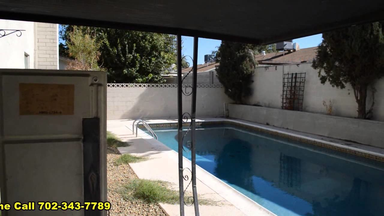 Best 4 Bedroom House With In Ground Pool For Rent In Las Vegas Nevada Youtube With Pictures