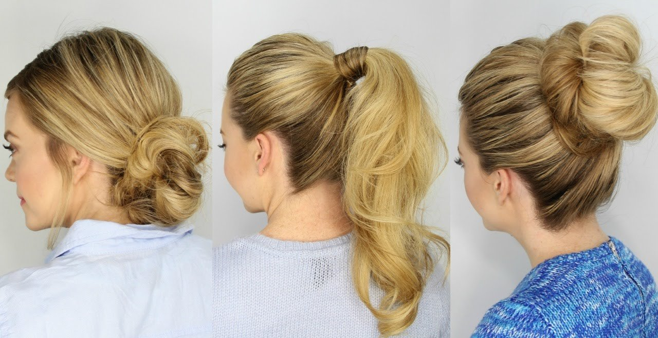 Free 3 Easy 5 Minute Hairstyles Youtube Wallpaper