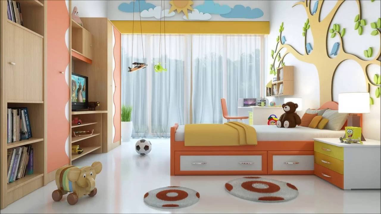 Best 30 Most Lively And Vibrant Ideas For Your Kids Bedroom Plan N Design Youtube With Pictures