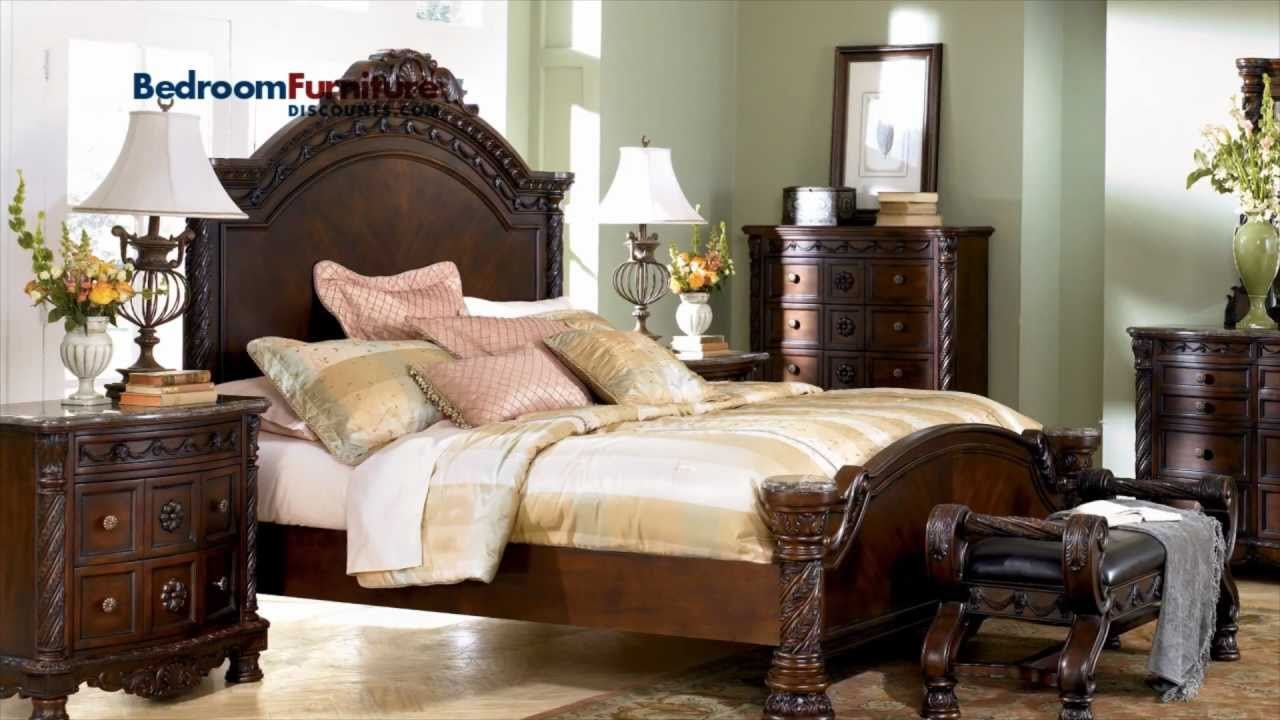 Best Ashley North Shore Panel Bed Bedroom Set Sale Youtube With Pictures