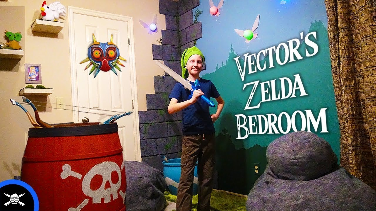 Best Vector S Zelda Bedroom Youtube With Pictures