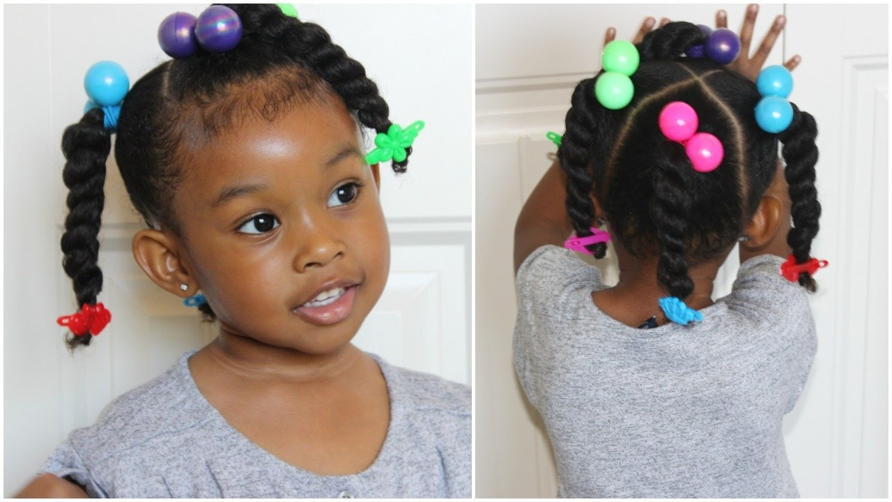 Free Ponytails Twists Cute Hairstyles For Kids Youtube Wallpaper