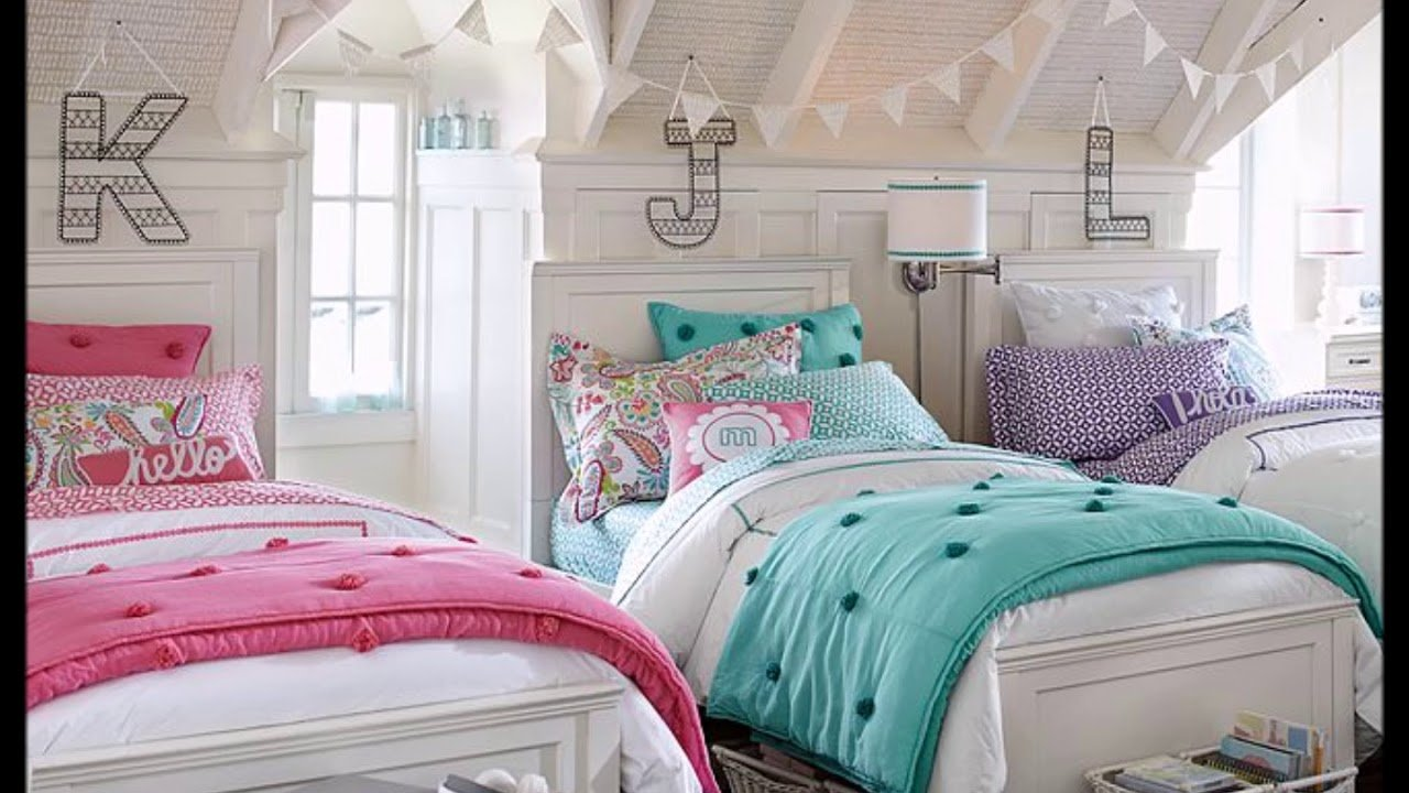 Best Shared Bedroom Ideas For Young And Teenage Girls Youtube With Pictures