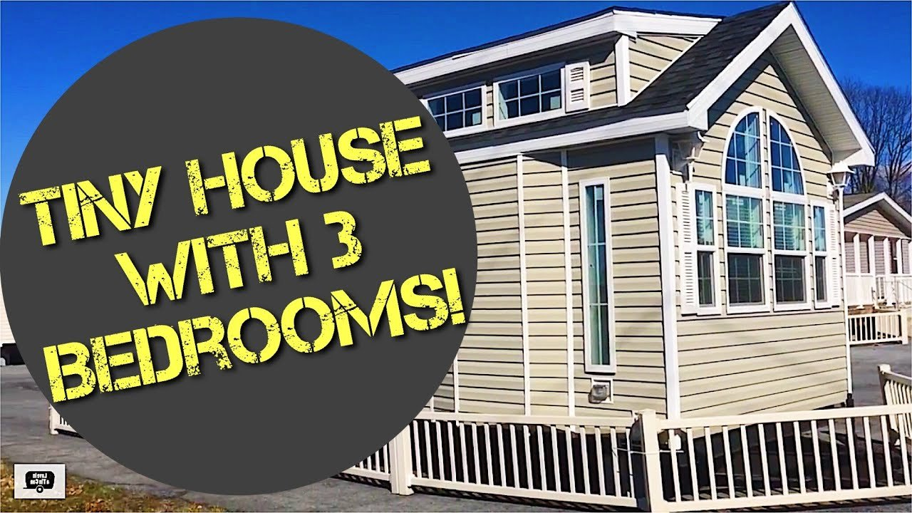 Best Tiny House With 3 Bedrooms Youtube With Pictures