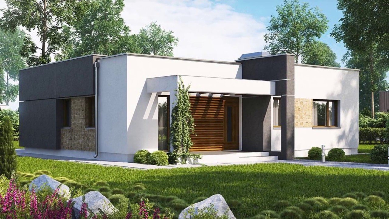Best 86 M² A Compact Modern Two Bedroom House With Large With Pictures