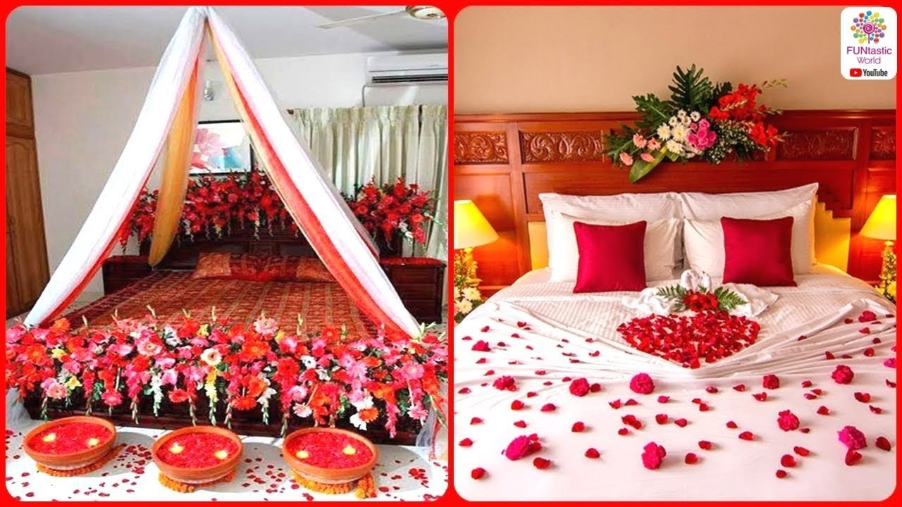 Best Romantic Wedding Marriage Room Decoration Ideas Bridal With Pictures