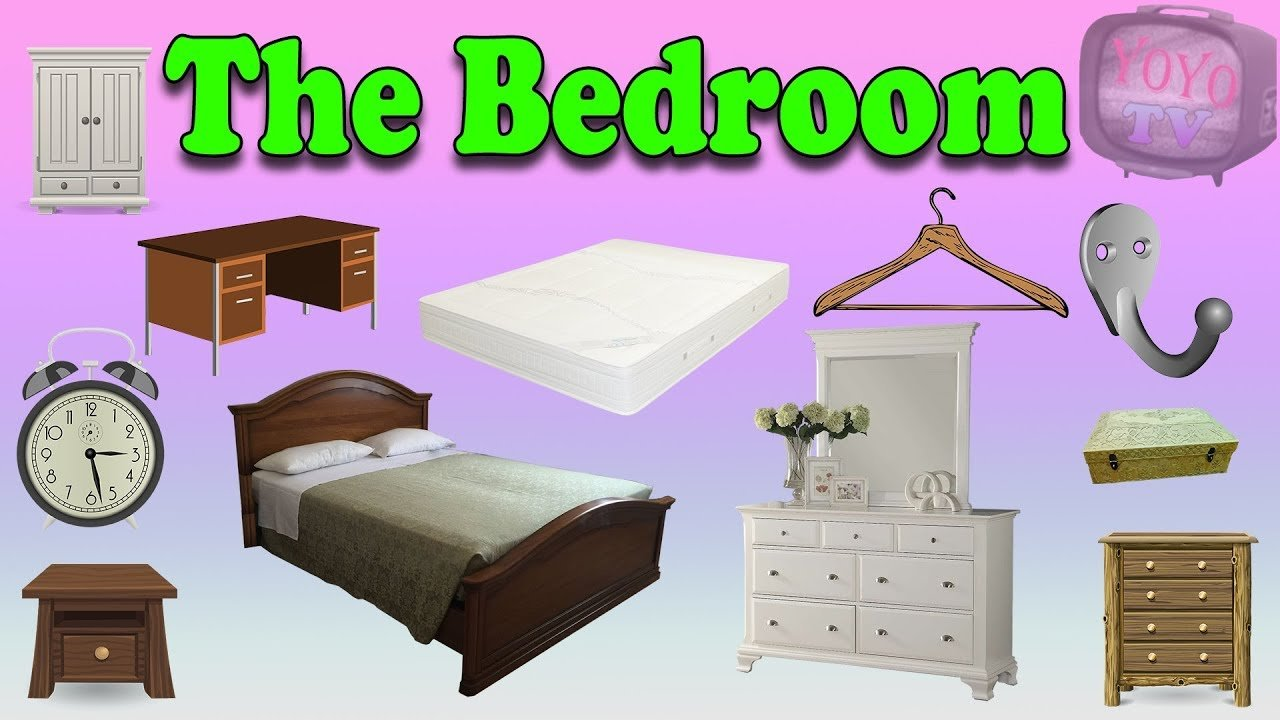Best Bedroom Vocabulary Youtube With Pictures
