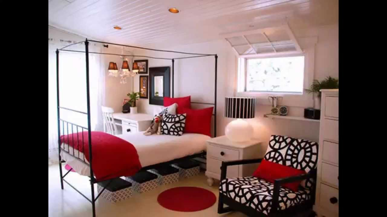 Best Awesome Red Black And White Bedroom Design Ideas Youtube With Pictures