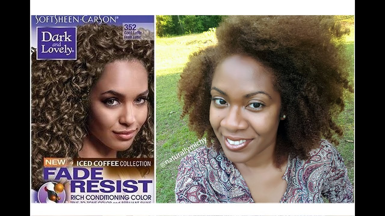 Free How I Color My Natural Hair With Dark Lovely Cool Latte Wallpaper
