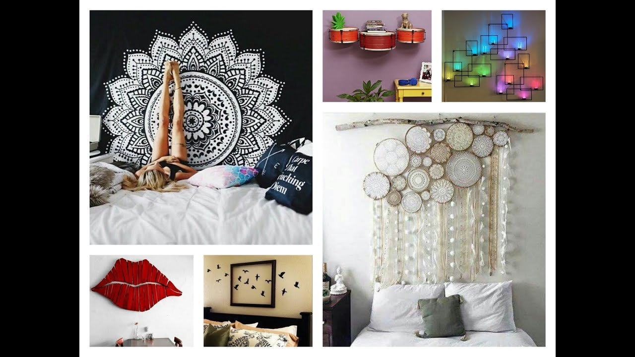 Best Creative Wall Decor Ideas Diy Room Decorations Youtube With Pictures
