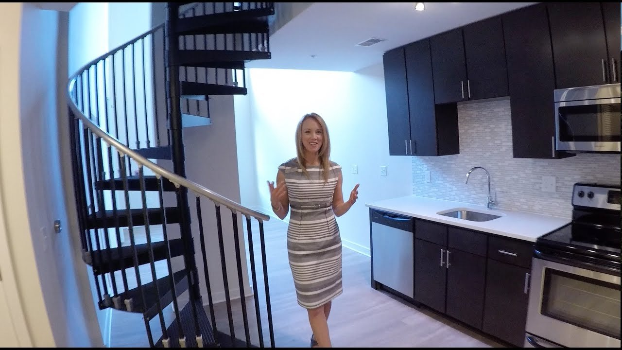 Best The Maxwell One Bedroom Loft Model Apartment Home With Pictures