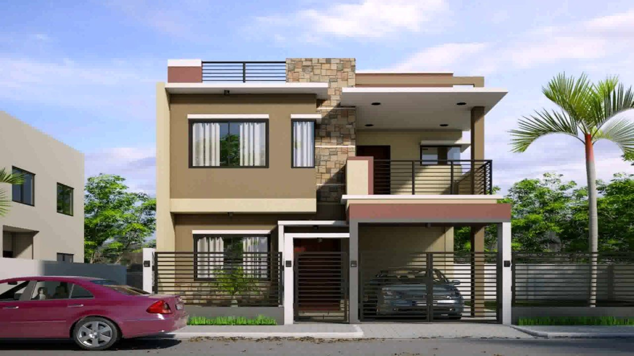 Best 2 Storey 3 Bedroom House Design Philippines Youtube With Pictures