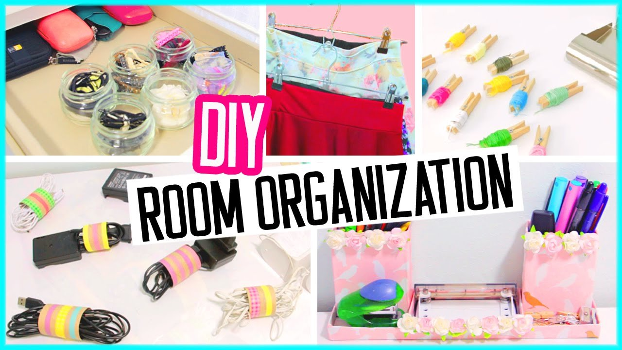 Best Diy Room Organization Hacks Low Cost Desk And Room Decor Spring Cleaning Youtube With Pictures