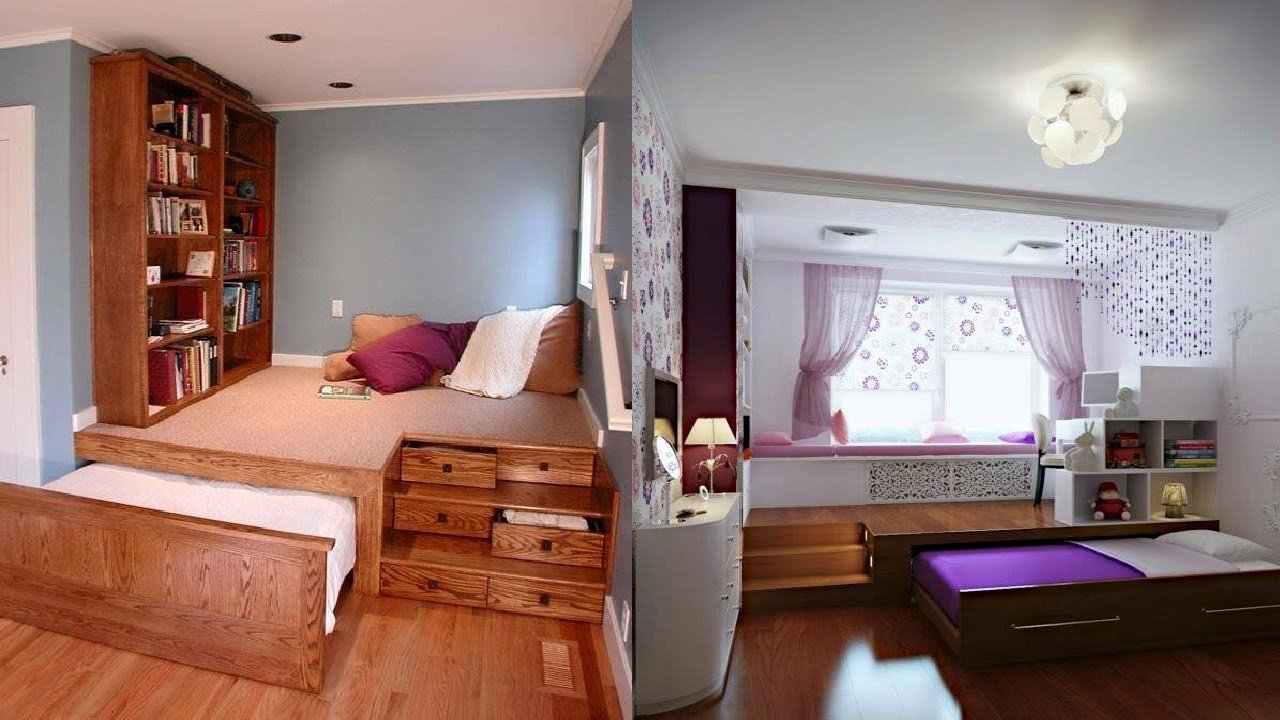 Best Space Saving Bedroom Ideas Youtube With Pictures